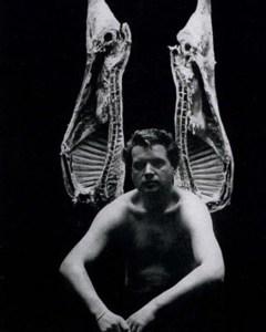 Francis Bacon- John Deakin Photo for Vogue