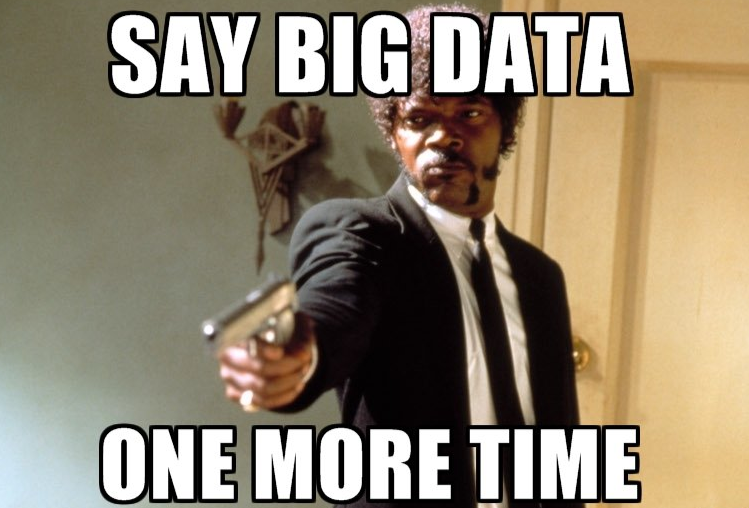 0.048 ounces of #data about '#BigData'