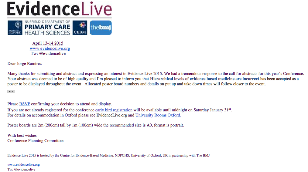 Evidence Live 2015 - Abstract Accepted - jorge.h.ramirez00@gmail.com - Gmail (4)