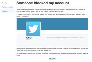 Twitter Help Center   Someone blocked my account (1)