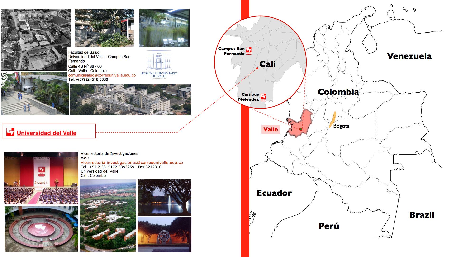 Open Letter to the Academic Community at Universidad del Valle, Cali, Colombia.