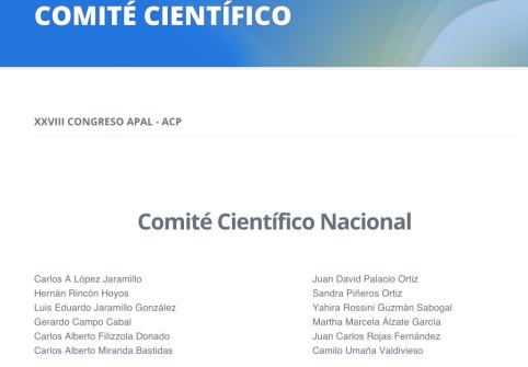 Bienvenido al XXVIII Congreso APAL 2014 - Cartagena de Indias, Colombia (1)