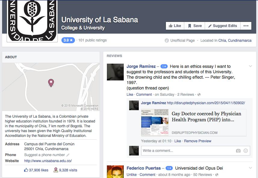 Universidad de la Sabana - Review