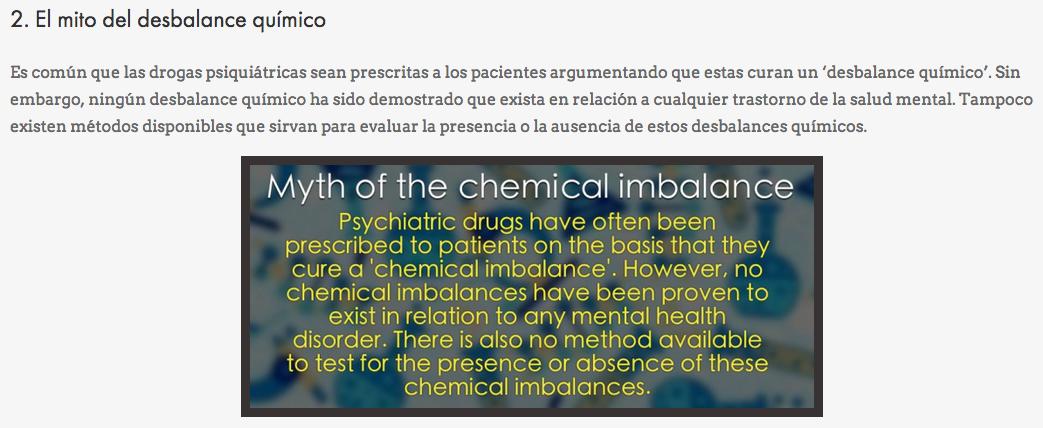 CEP Hecho no reconocido # 2 - psiquiatría