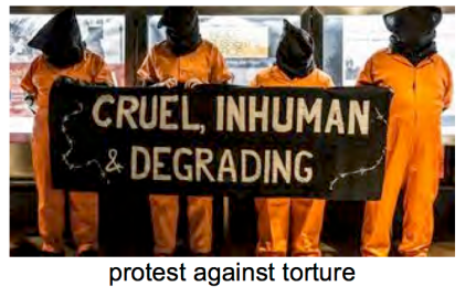 protest against torture