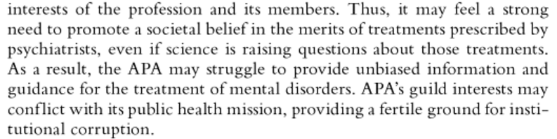 Psychiatry Under the Influence