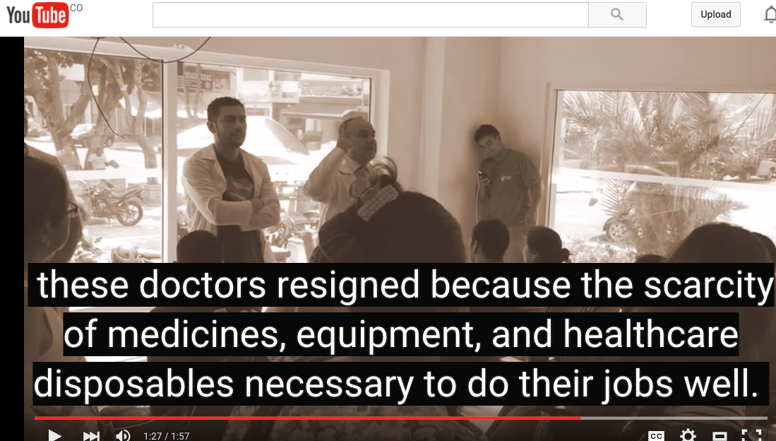 "Colombian Doctors: ""We have assumed the challenge to unionize."" (…)"