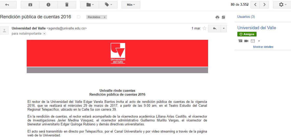Protected: Closed Letter / Carta Cerrada (1°) – rector @UnivalleCol [Password:Prevaricate]